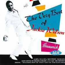 "THE VERY BEST OF JACKIE WILSON  ""24 TRACKS OF R&B, NORTHERN SOUL, SOUL, BALLADS"""