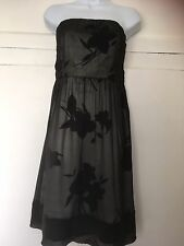 Gorgeous Ladies The Limited Boob Tube Dress Size 6 Silk