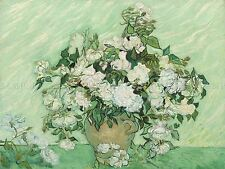 VINCENT VAN GOGH DUTCH ROSES OLD ART PAINTING POSTER PRINT BB6487A