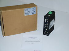 L-Com IES-2205 Industrial 5 Port 10/100 Switch Unmanaged NEW   (BR)