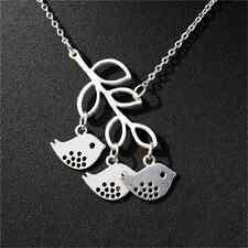 Fashion Charm Jewelry Chain Bird Pendant Choker Chunky Statement Bib Necklace