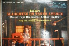 Rodgers Slaughter on Tenth Avenue Arthur Fiedler 33 RPM VINYL  011216 TLJ