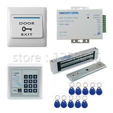 400 LBs Electric Door Lock Kit Magnetic ID Card Password Access Control System