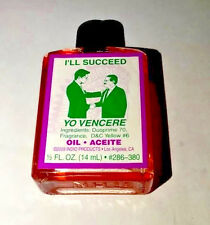 I'll Succeed Oil 1/2 oz. - Spell Magick Wicca 4dr Free Shipping