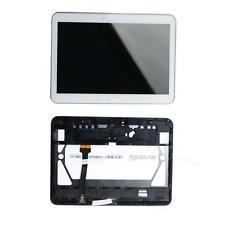 White Fr Samsung Galaxy Tab 4 10.1 SM-T530 LCD Display Touch Screen + Frame BDRG