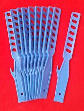 Plastic Paint Stirring Paddle Stirrer Mixing Sticks GRP x10