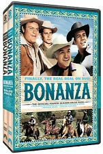 Bonanza The Official Fourth Season 4 Four Vol 1 2 DVD Set Series Westerns Video
