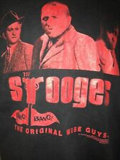 VINTAGE  THE THREE STOOGIES 2000 WISE GUYS FILM TV  VTG  OUT OF PRINT T SHIRT L
