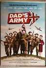 Cinema Poster: DAD'S ARMY 2016 (Main One Sheet) Catherine Zeta-Jones Bill Nighy