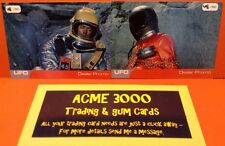 Gerry Anderson UFO Unstoppable - DOUBLE & NUMBERED Exclusive Dealer Promo Cards