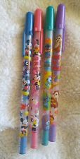 Rare-Disney Mickey Minnie Mouse LiloStitch Chip'n Dale Friends Postcard Pen Pink