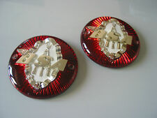 NOS BSA ONE PAIR OF TANK BADGES   RARE