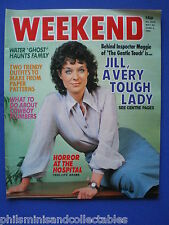Weekend Magazine - Jill Gascoine, John Le Mesurier     28th May 1980