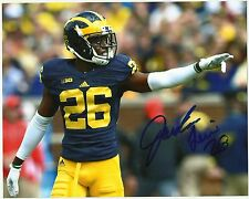 Michigan Wolverines JOURDAN LEWIS  Signed 8x10 Photo