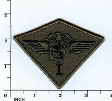 USMC 1st Marine Aircraft Wing subdued OD camo PATCH 1st MAW 1st Air Wing Marines