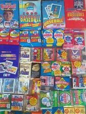 10,000 Vintage Unopened Wax Packs Only $0.70 each