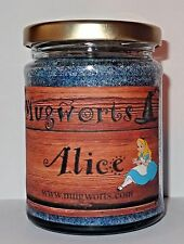 Alice in Wonderland Scented Jar Candle, Wicca, mad hatter, Magical gift, soy wax