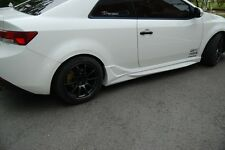 NEFD Design FRP Side Skirts LH RH Aero Unpainted For KIA FORTE KOUP 2010-2013