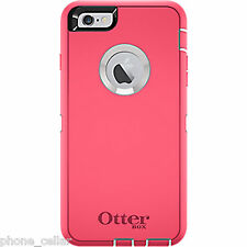 OEM Otterbox Defender Series Neon Rose Pink Shell Case Apple iPhone 6+ Plus