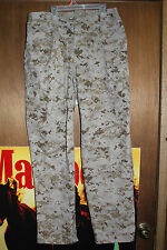 USMC Desert Digital MARPAT Military Issued Marine Pants Trousers Medium Regular
