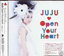 JUJU - Open Your Heart Sugao no Mama de - Japan CD NEW