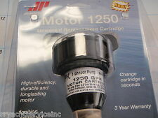 BILGE PUMP JOHNSON MOTOR REPLACEMENT CARTRIDGE 42522 1250GPH BOATINGMALL EBAY