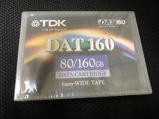 NEW TDK DATA Cartridge DAT160 DDS6 8mm wide tape 80/160GB