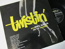"SPIKE MARLIN AND THE THUNDERS TWISTIN' (1960s POP, ROCK 'N ROLL) 12"" 33RPMLP"
