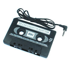Car Cassette Tape Player for MP3/MP4/CD/DVD/PDA/MD/ipod AUX BLACK