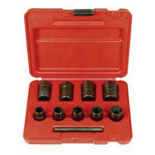 Ken-Tool 30107 3/8 In Dr Medium Duty Twist Socket Set w/ Plastic Case 9-Pc