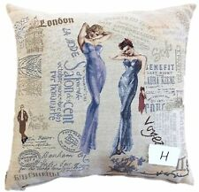 "2 PC 18"" Decorative Home Decor Sofa Accent Girls Throw Pillow Cushion Cover Case"