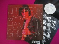 Jeff Beck (ex Yardbirds) Lp- With The Jan Hammer Group Live