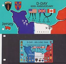 JERSEY PRESENTATION PACK 2004 D-DAY 60TH ANNIVERSARY 10% off 5+