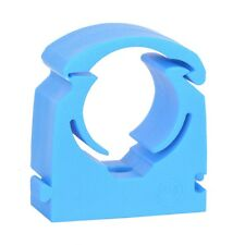 TALON MDPE PACK OF 4 Water Pipe Hinged BLUE Clip 19mm,20mm,21mm