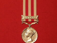 FULL SIZE INDIAN MUTINY MEDAL LUCKNOW CLASP MUSEUM COPY MEDAL WITH RIBBON.