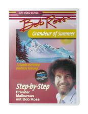 Bob Ross 1 Stunde Malkurs Workshop - Grandeur of Summer DVD