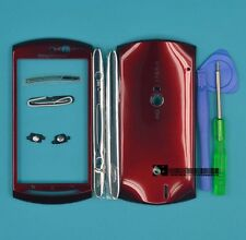 for Sony Ericsson Xperia Neo V MT11i MT15i red Housing Cover Case+Tools