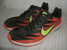 NIKE ZOOM STREAK XC RED TRAINER RUNNING SHOES / U.S. SIZE 14 M / EUR 48.5 MEN'S