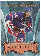 2007-08 ARTIFACTS BRANDON DUBINSKY RC @ 10/10 UPPER DECK #190 ROOKIE