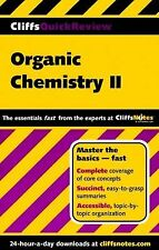 CliffsQuickReview Organic Chemistry II by Cliffs Notes Staff and Frank...