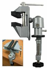 "Universal Table Bench Vise 3"" Work Bench Clamp Swivel Rotating Hobby Craft NEW"