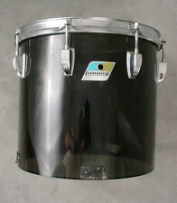 "1970's LUDWIG 12"" SMOKE VISTALITE MOUNTED CONCERT TOM DRUM"