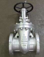 "STOCKHAM 30-OF-U CLASS 300 CR13 6"" 12 BOLT FLANGED WCB STEEL GATE VALVE NEW"