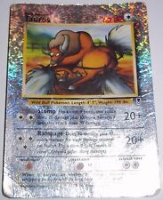 Reverse Holo Foil Tauros # 65/110 Legendary Collection Set Pokemon Cards DA