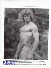 Miles O'Keefe barechested VINTAGE Photo Tarzan The Ape Man