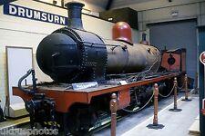 Steam Loco under restoration at Londonderry Museum Northern Ireland Rail Photo