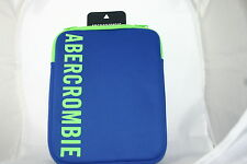abercrombie & fitch  ipad/tablet case -blue -totally authentic