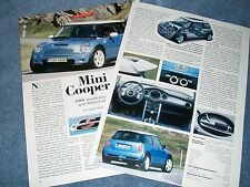 "2003 Mini Cooper S Info Article ""BMW Installs Forced Air in its Oxford Saltbox"""