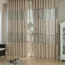 Modern Room Tulle Window Door Curtain Balcony Drape Panel Sheer Scarfs Valances