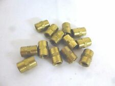 "27 Pcs 1/2"" Brass Coupler Fittings Nuts Female Plumbing Plumber Supplies"
